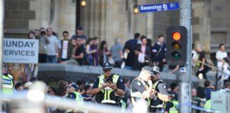 Police in Melbourne Australia