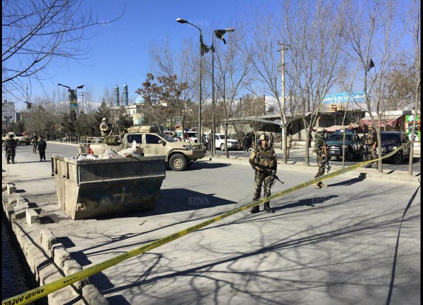 Afghanistan suicide attack Shiite ISIS