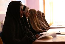 Women in Afghanistan undergo journalism training