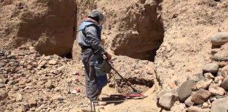 Landmine clearance in Afghanistan