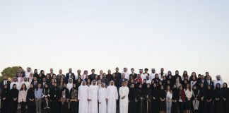 Journalists at the Young Arab Media Leaders program in Dubai