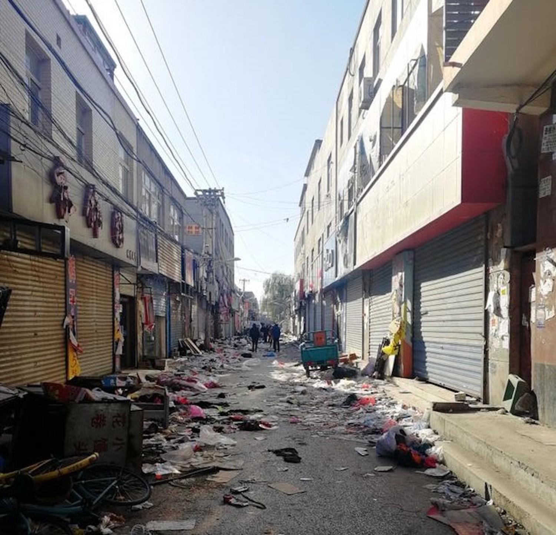 Beijing neighborhood eviction