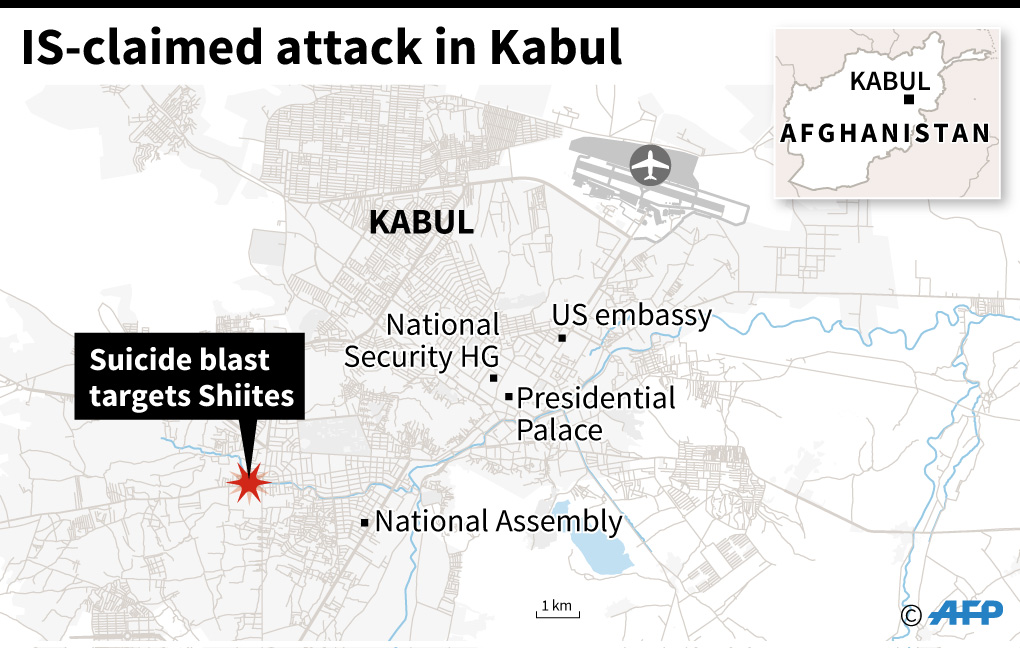 Kabul attack claimed by the IS group