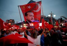 nationalistic rhetoric nationalism anti-Western Erdogan campaign