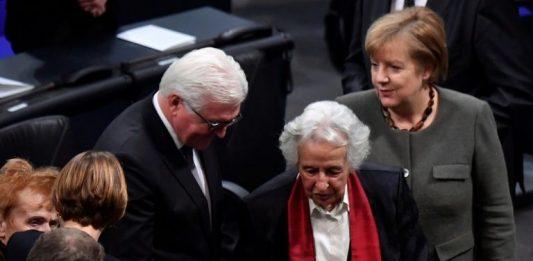 Angela Merkel and Frank-Walter Steinmeier