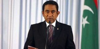 Maldivian Opposition Abdulla Yameen