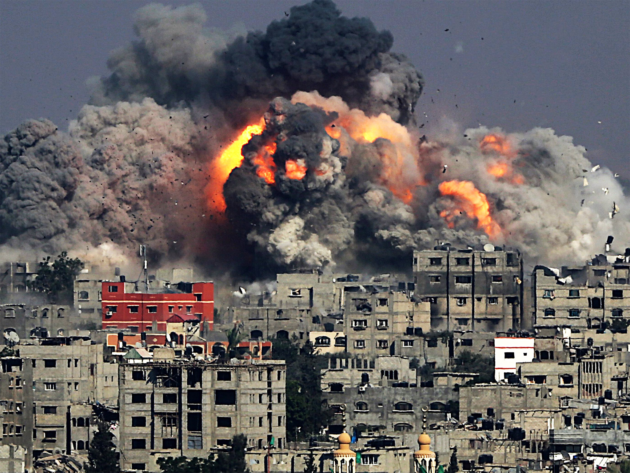 Gaza could collapse Israel