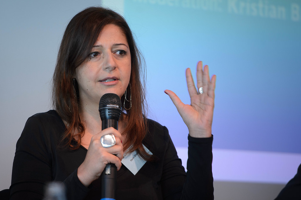 Lebanese journalist Hanin Ghaddar has been jailed