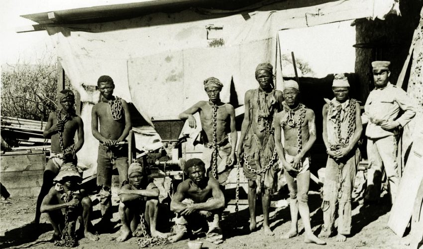 Namibian genocide Germany reparations