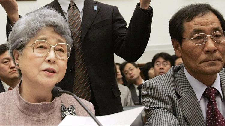 North Korea Japan families abductees kidnapped