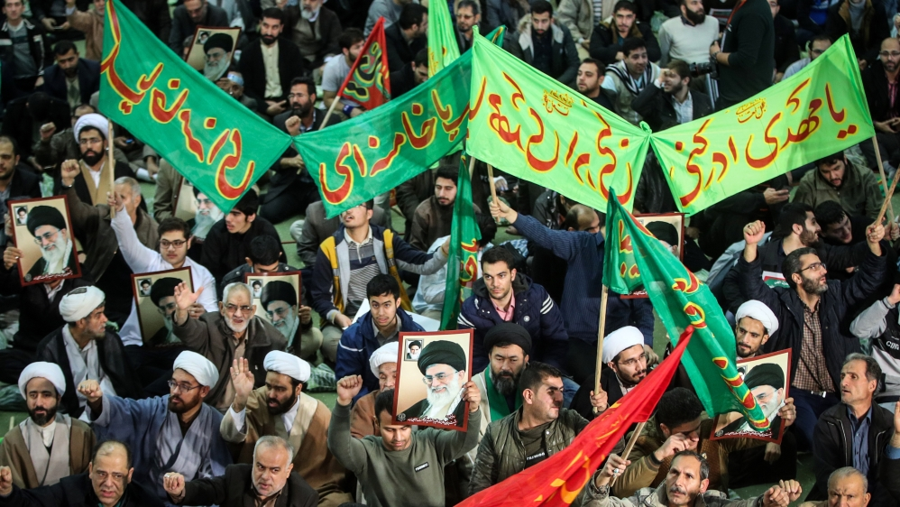 Protests in Iran Rouhani