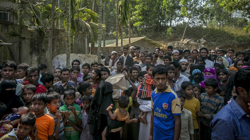 Rohingya Muslims genocide Bangladesh Yusuf Ali