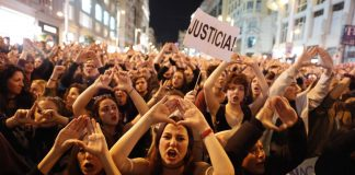 Women gender violence Spain