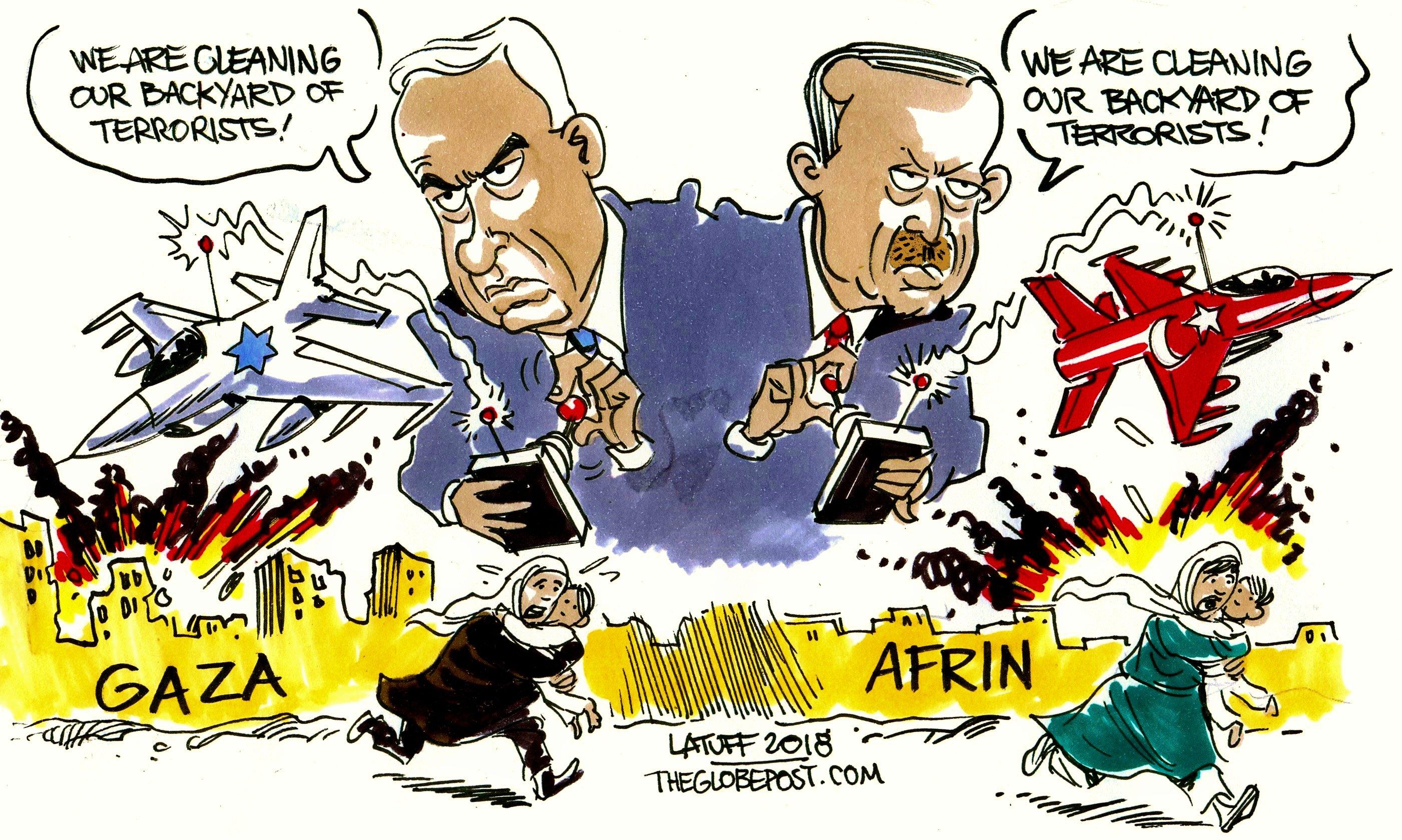 Turkiet backar om al assad