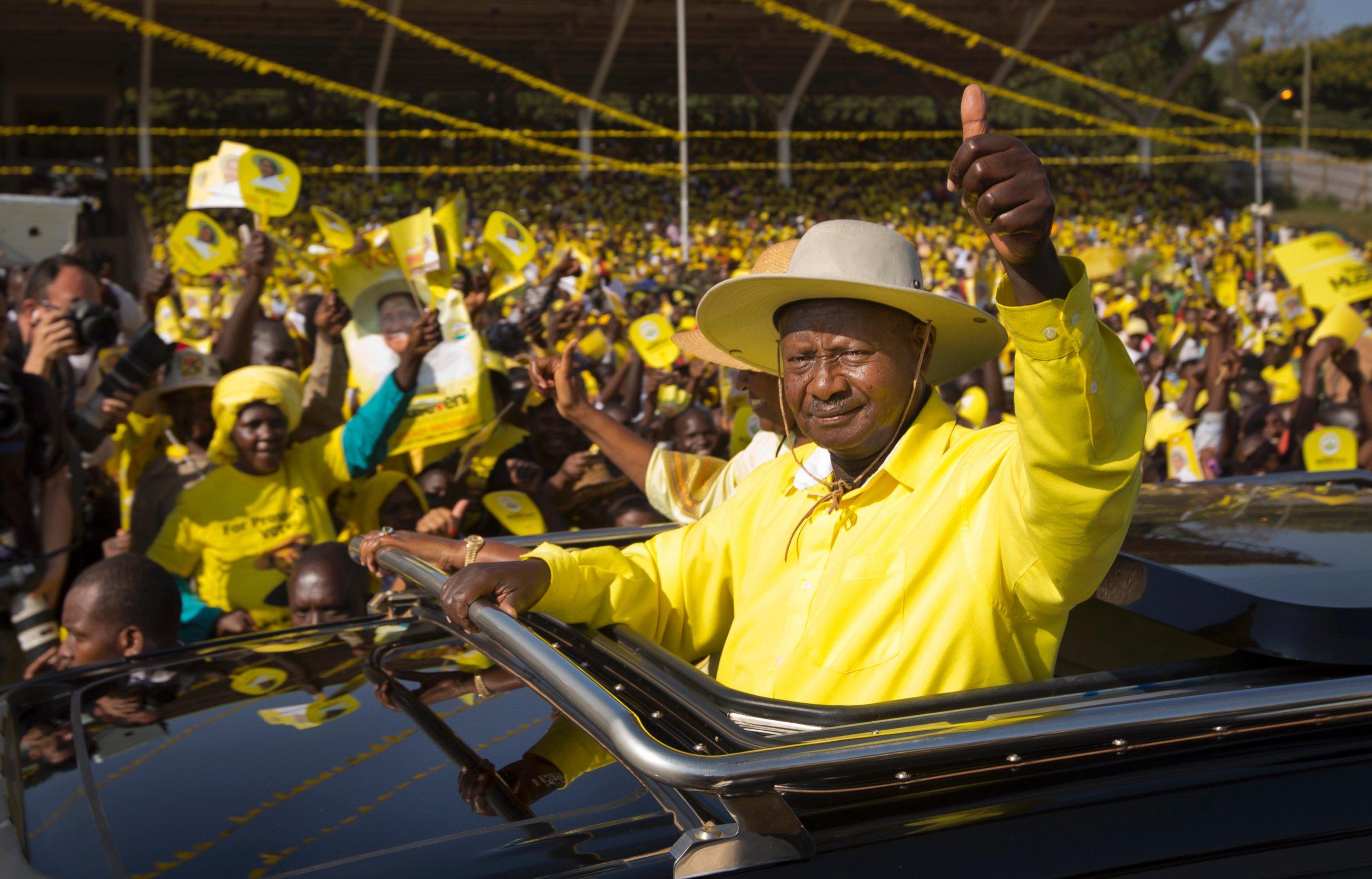 Yoweri Museveni Red Pepper tabloid unbanned