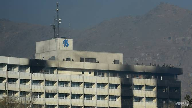 Taliban attacked an iconic hotel in Kabul