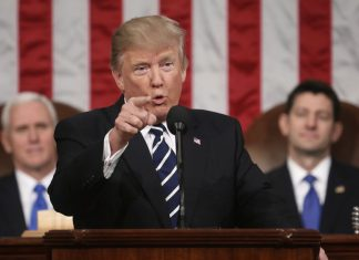 State of the union trump full text transcript