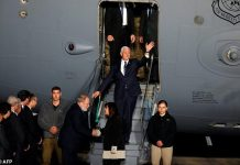 US Vice President Mike Pence arrives in Israel