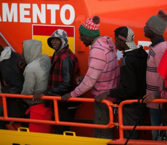 migrants in Spain