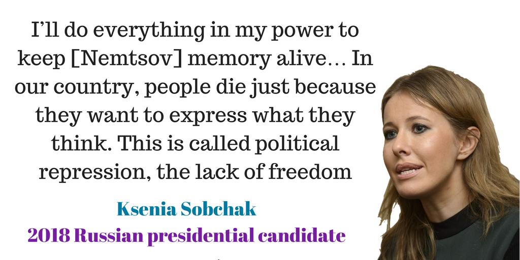 ksenia Sobchak nemtsov