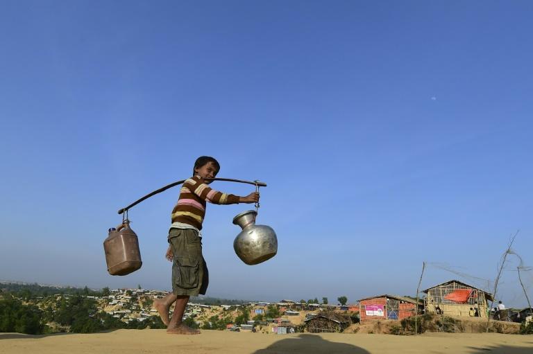 a Rohingya refugee