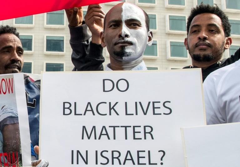 A hunger strike of migrants in Israel