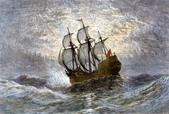 Mayflower America immigrants