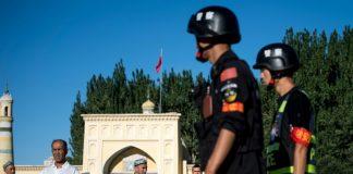 The Xinjiang region of China