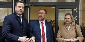 Austrian Freedom Party (FPOe) head Johann Gudenus,