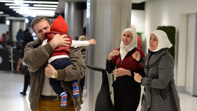 family reunion syrians refugees