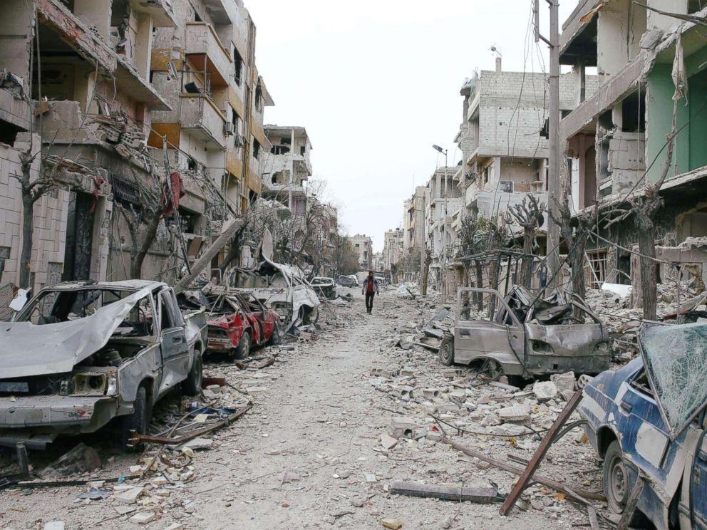 destruction of eastern ghouta