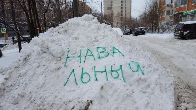 navalny snow