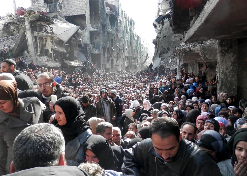 syria poverty yarmouk