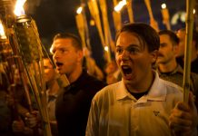 Radicalization in america charlottesville white supremacy