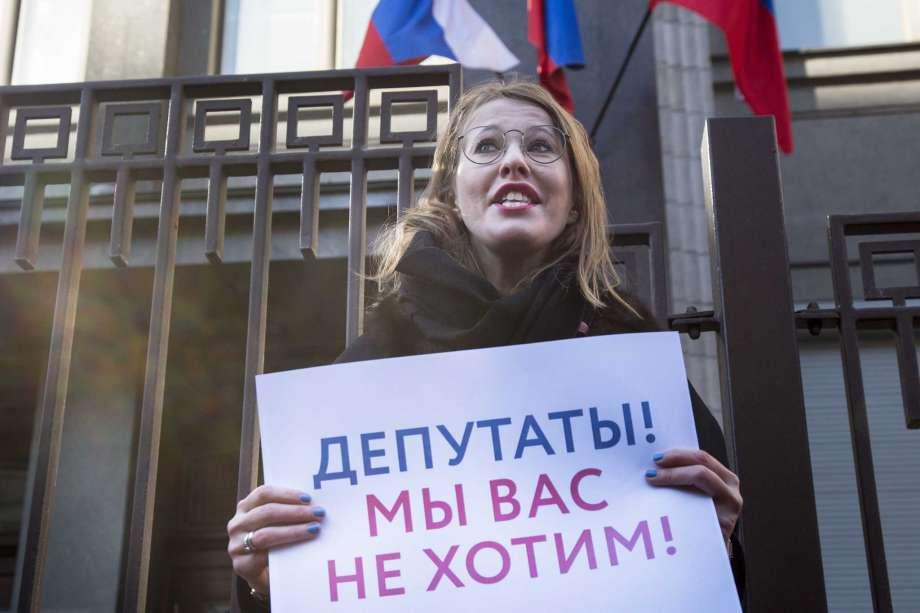 sobchak protest