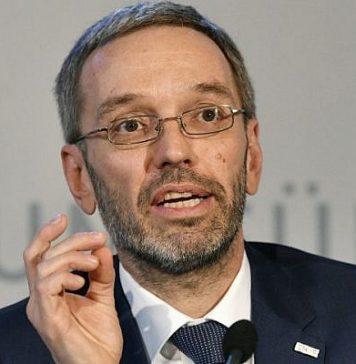 Austrian Minister Herbert Kickl