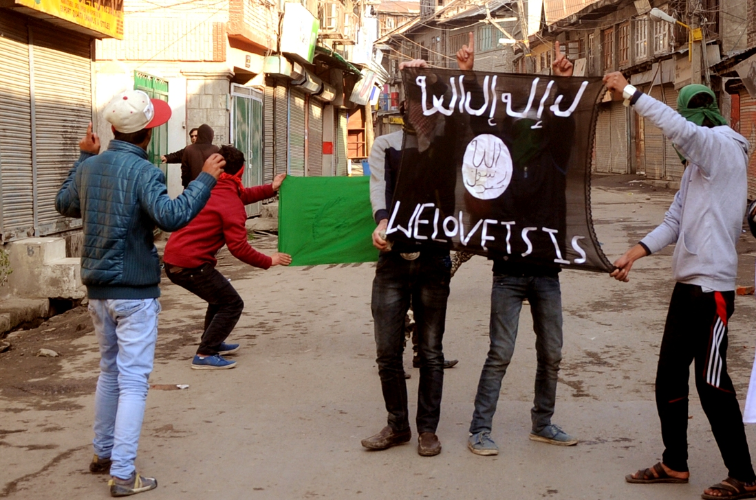Aniti-Indian protest in Kashmir