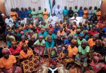 Muhammadu Buhari and the Chibok girls