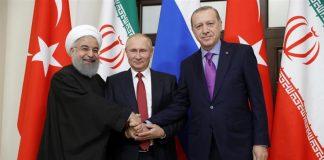 putin erdogan rouhani akkuyu nuclear S400 Syria