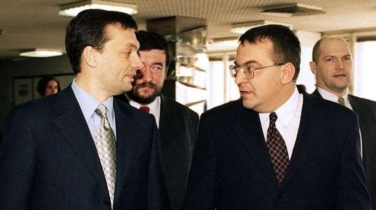Simicska Lajos Viktor Orban Hungary in 1999