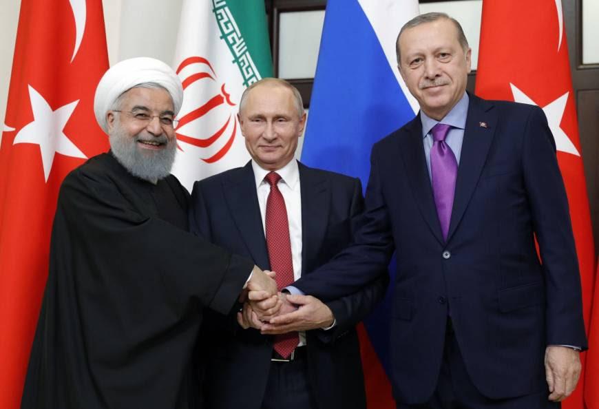 Putin, Erdogan and Rouhani
