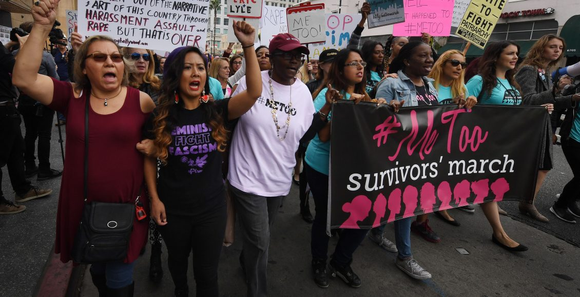 #MeToo protest in Hollywood
