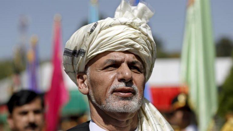President of Afghanistan Muhammad Ashraf Ghani.