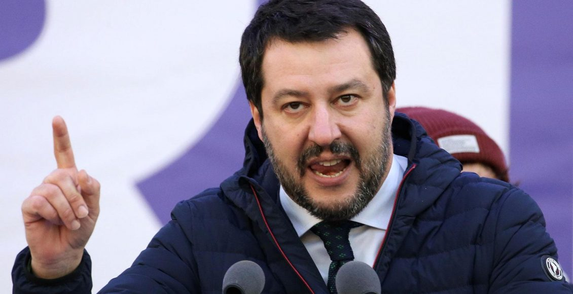 League leader Matteo Salvini