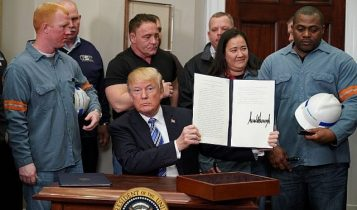 Trump signs Section 232 Proclamations on Steel and Aluminum Imports