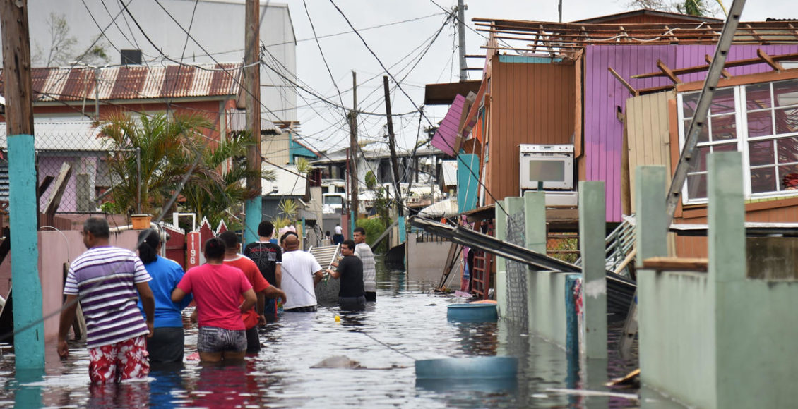 Victims of Hurricane Maria in Puerto Rico