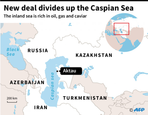 Caspian Sea: How Iran Gives Up Territory and Resources to ...