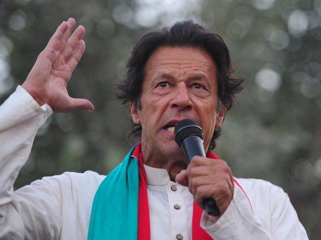 Pakistan's new prime minister Imran Khan