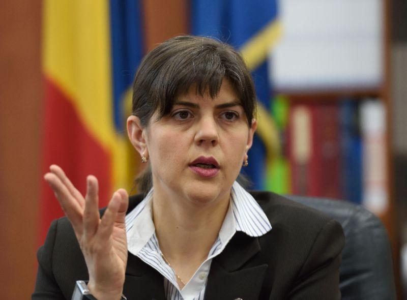 Romania's former DNA's chief prosecutorLaura Codruta Kovesi
