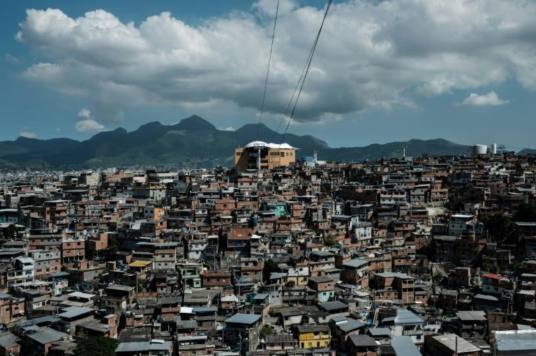 A favela in Rio de Janeiro, Brazil